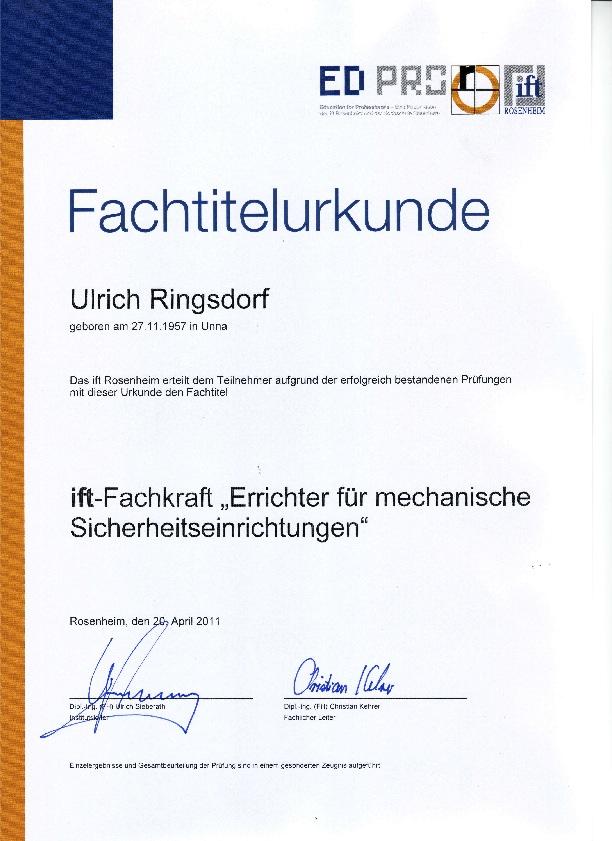 IFT-MechErr
